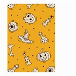 Funny Halloween Party Pattern Large Garden Flag (Two Sides) Front