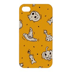 Funny Halloween Party Pattern Apple Iphone 4/4s Premium Hardshell Case