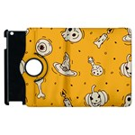 Funny Halloween Party Pattern Apple iPad 2 Flip 360 Case Front