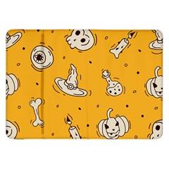 Funny Halloween Party Pattern Samsung Galaxy Tab 8 9  P7300 Flip Case