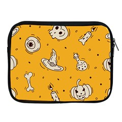 Funny Halloween Party Pattern Apple Ipad 2/3/4 Zipper Cases