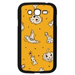 Funny Halloween Party Pattern Samsung Galaxy Grand DUOS I9082 Case (Black) Front