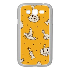 Funny Halloween Party Pattern Samsung Galaxy Grand Duos I9082 Case (white)