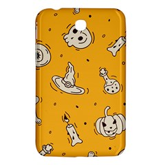 Funny Halloween Party Pattern Samsung Galaxy Tab 3 (7 ) P3200 Hardshell Case  by HalloweenParty