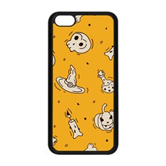 Funny Halloween Party Pattern Apple Iphone 5c Seamless Case (black)