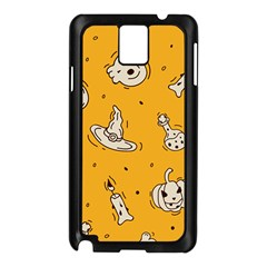 Funny Halloween Party Pattern Samsung Galaxy Note 3 N9005 Case (black)