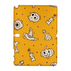 Funny Halloween Party Pattern Samsung Galaxy Note 10 1 (p600) Hardshell Case