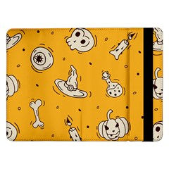 Funny Halloween Party Pattern Samsung Galaxy Tab Pro 12 2  Flip Case