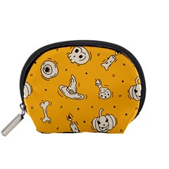 Funny Halloween Party Pattern Accessory Pouch (small)