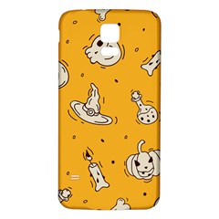Funny Halloween Party Pattern Samsung Galaxy S5 Back Case (white)