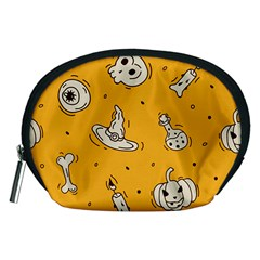 Funny Halloween Party Pattern Accessory Pouch (medium)