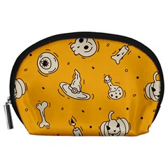 Funny Halloween Party Pattern Accessory Pouch (large)