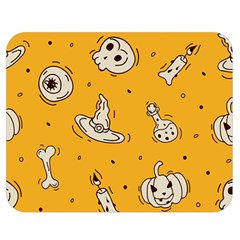 Funny Halloween Party Pattern Double Sided Flano Blanket (medium)