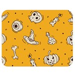 Funny Halloween Party Pattern Double Sided Flano Blanket (Medium)  60 x50  Blanket Back