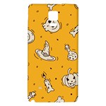 Funny Halloween Party Pattern Samsung Note 4 Hardshell Back Case Front