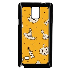 Funny Halloween Party Pattern Samsung Galaxy Note 4 Case (black)