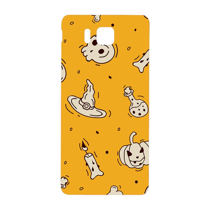 Funny Halloween Party Pattern Samsung Galaxy Alpha Hardshell Back Case