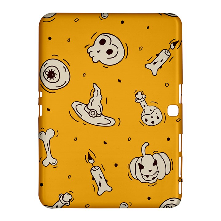 Funny Halloween Party Pattern Samsung Galaxy Tab 4 (10.1 ) Hardshell Case