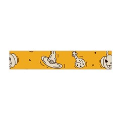 Funny Halloween Party Pattern Flano Scarf (mini)
