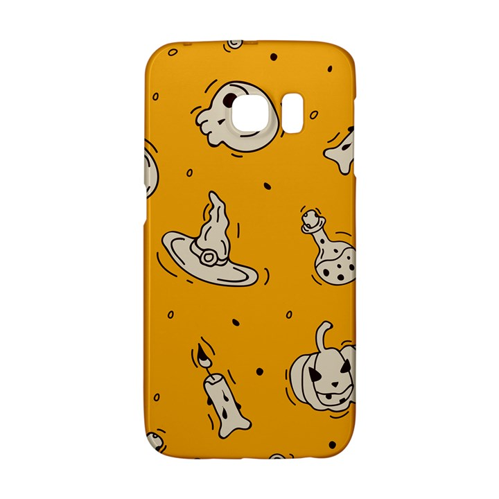 Funny Halloween Party Pattern Samsung Galaxy S6 Edge Hardshell Case