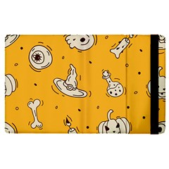 Funny Halloween Party Pattern Apple Ipad Pro 12 9   Flip Case