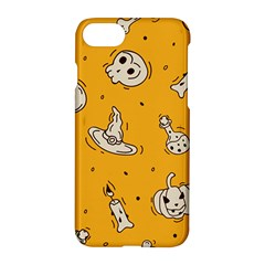 Funny Halloween Party Pattern Apple Iphone 7 Hardshell Case