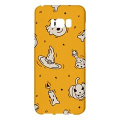 Funny Halloween Party Pattern Samsung Galaxy S8 Plus Hardshell Case