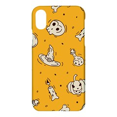Funny Halloween Party Pattern Apple Iphone X Hardshell Case