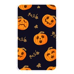 Funny Scary Black Orange Halloween Pumpkins Pattern Memory Card Reader (rectangular)