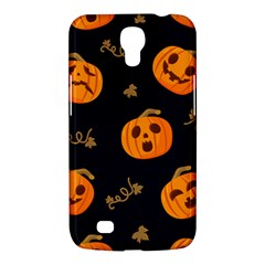 Funny Scary Black Orange Halloween Pumpkins Pattern Samsung Galaxy Mega 6 3  I9200 Hardshell Case
