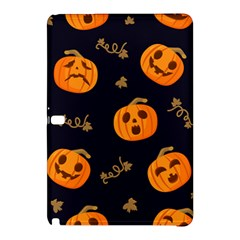 Funny Scary Black Orange Halloween Pumpkins Pattern Samsung Galaxy Tab Pro 10 1 Hardshell Case