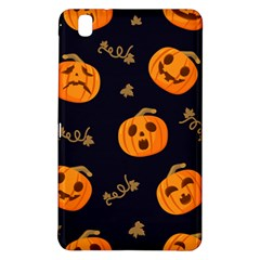 Funny Scary Black Orange Halloween Pumpkins Pattern Samsung Galaxy Tab Pro 8 4 Hardshell Case