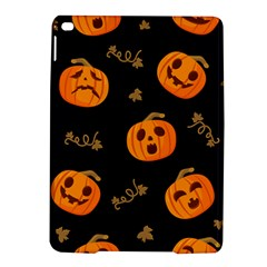 Funny Scary Black Orange Halloween Pumpkins Pattern Ipad Air 2 Hardshell Cases