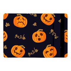 Funny Scary Black Orange Halloween Pumpkins Pattern Apple Ipad Pro 10 5   Flip Case
