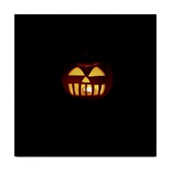 Funny Spooky Scary Halloween Pumpkin Jack O Lantern Tile Coasters by HalloweenParty