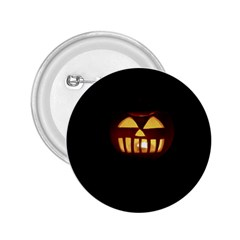 Funny Spooky Scary Halloween Pumpkin Jack O Lantern 2.25  Buttons