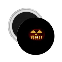 Funny Spooky Scary Halloween Pumpkin Jack O Lantern 2 25  Magnets