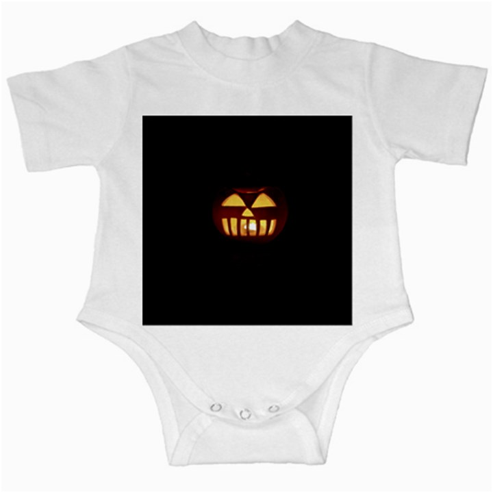 Funny Spooky Scary Halloween Pumpkin Jack O Lantern Infant Creepers