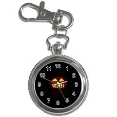 Funny Spooky Scary Halloween Pumpkin Jack O Lantern Key Chain Watches