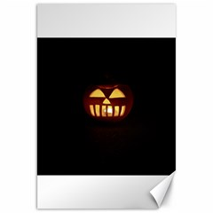 Funny Spooky Scary Halloween Pumpkin Jack O Lantern Canvas 20  X 30  by HalloweenParty