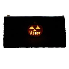 Funny Spooky Scary Halloween Pumpkin Jack O Lantern Pencil Cases