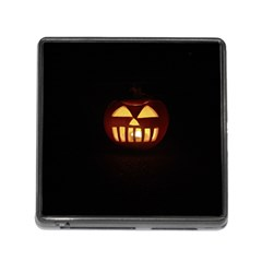 Funny Spooky Scary Halloween Pumpkin Jack O Lantern Memory Card Reader (square 5 Slot) by HalloweenParty