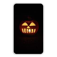 Funny Spooky Scary Halloween Pumpkin Jack O Lantern Memory Card Reader (rectangular) by HalloweenParty