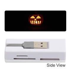 Funny Spooky Scary Halloween Pumpkin Jack O Lantern Memory Card Reader (stick) by HalloweenParty