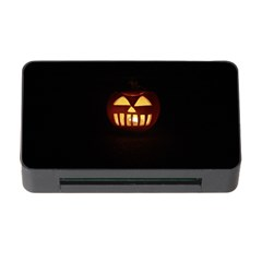 Funny Spooky Scary Halloween Pumpkin Jack O Lantern Memory Card Reader With Cf by HalloweenParty