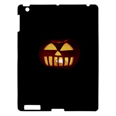 Funny Spooky Scary Halloween Pumpkin Jack O Lantern Apple Ipad 3/4 Hardshell Case
