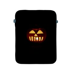 Funny Spooky Scary Halloween Pumpkin Jack O Lantern Apple iPad 2/3/4 Protective Soft Cases
