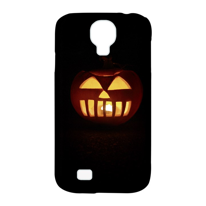 Funny Spooky Scary Halloween Pumpkin Jack O Lantern Samsung Galaxy S4 Classic Hardshell Case (PC+Silicone)
