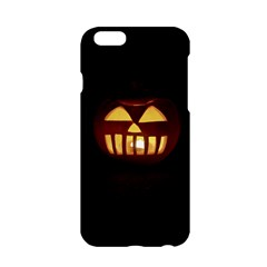 Funny Spooky Scary Halloween Pumpkin Jack O Lantern Apple Iphone 6/6s Hardshell Case