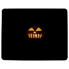 Funny Spooky Scary Halloween Pumpkin Jack O Lantern Jigsaw Puzzle Photo Stand (Rectangular)